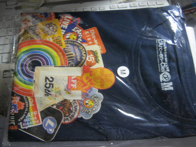 L'Arc-en-Ciel ラルクアンシエル / 25th L'Anniversary LIVE Tシャツ 未開封 HYDE VAMPS TETSU KEN YUKIHIRO D'ERLANGER DIE IN CRIES