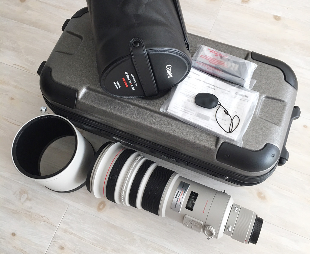 Canon EF500mm F4L IS USM 中古品