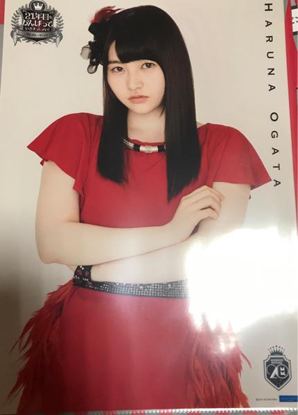 尾形春水 モーニング娘。結成20周年記念イベント コレクションピンナップポスター1種(寄)