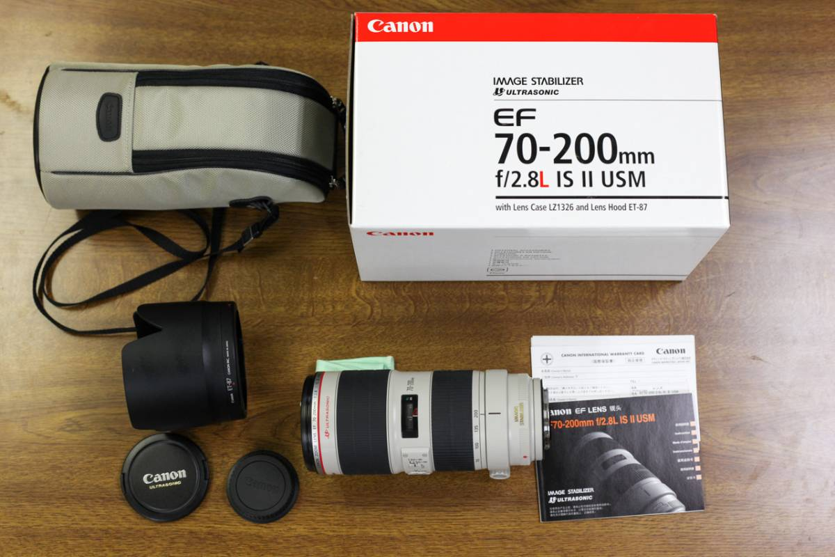 Canon EF70-200mm f/2.8L IS II USM 極上品
