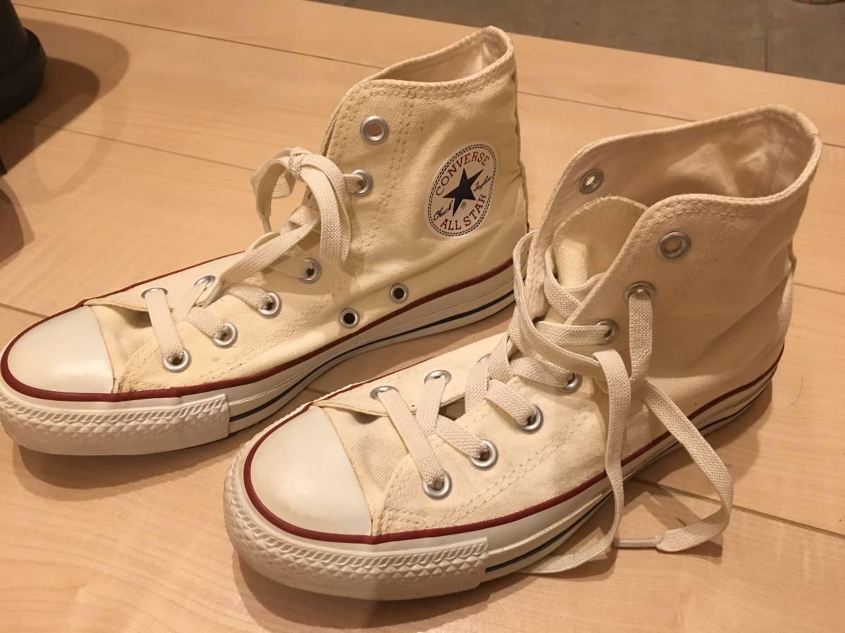 コンバース☆オールスター☆ハイカット 24cm 白 ホワイト