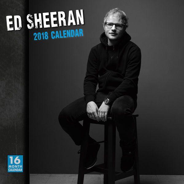 2018年 エドワルド・シーラン Ed Sheeran ★@輸入カレンダー [18R1531901298OPR] 60x30cmポスターとしても 楽しめる!