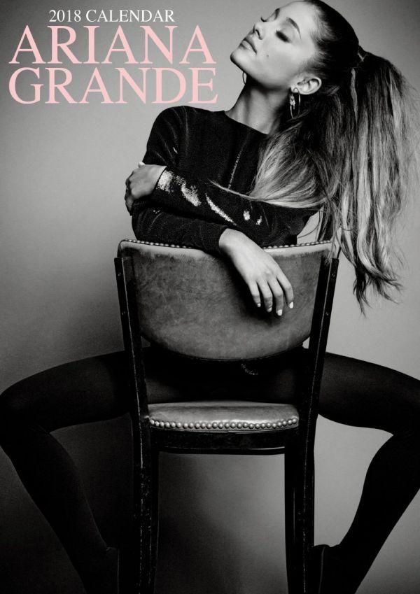 2018年 アナリア・グランデ Ariana Grande★@輸入カレンダー [18RB071VMXVFROPR] ポスターとしても 楽しめる!