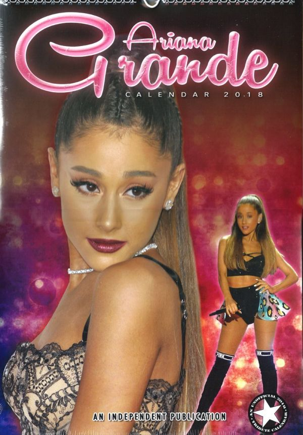 2018年 アナリア・グランデ Ariana Grande★輸入カレンダー [18KB072595R1QOQR] 43x30cm ポスターとしても 楽しめる!