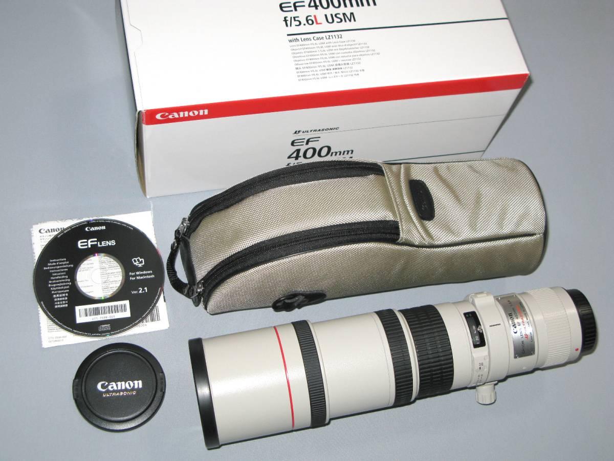 ※新同品【最新 キャノン超望遠「Canon EF400mm F5.6L USM」2012年製造モデル】