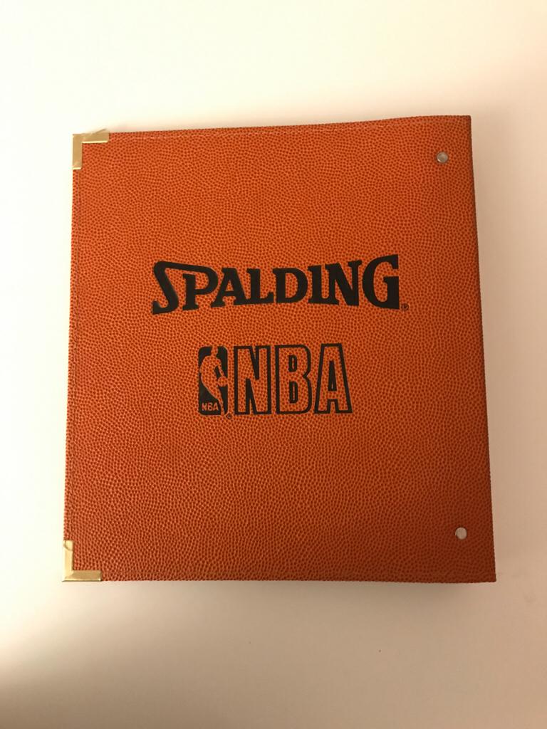 SPALDING / NBAカードホルダー! グッズの画像