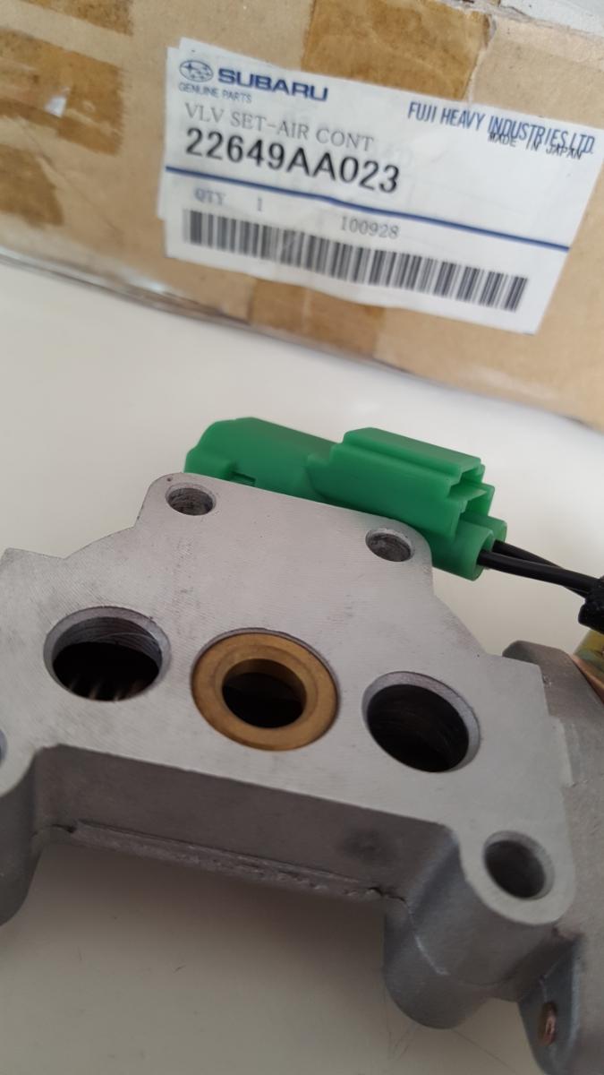 スバル 純正 22649AA023 AIR COT エアーコントロールバルブ 新品 長期間保管 レガシィ_画像3