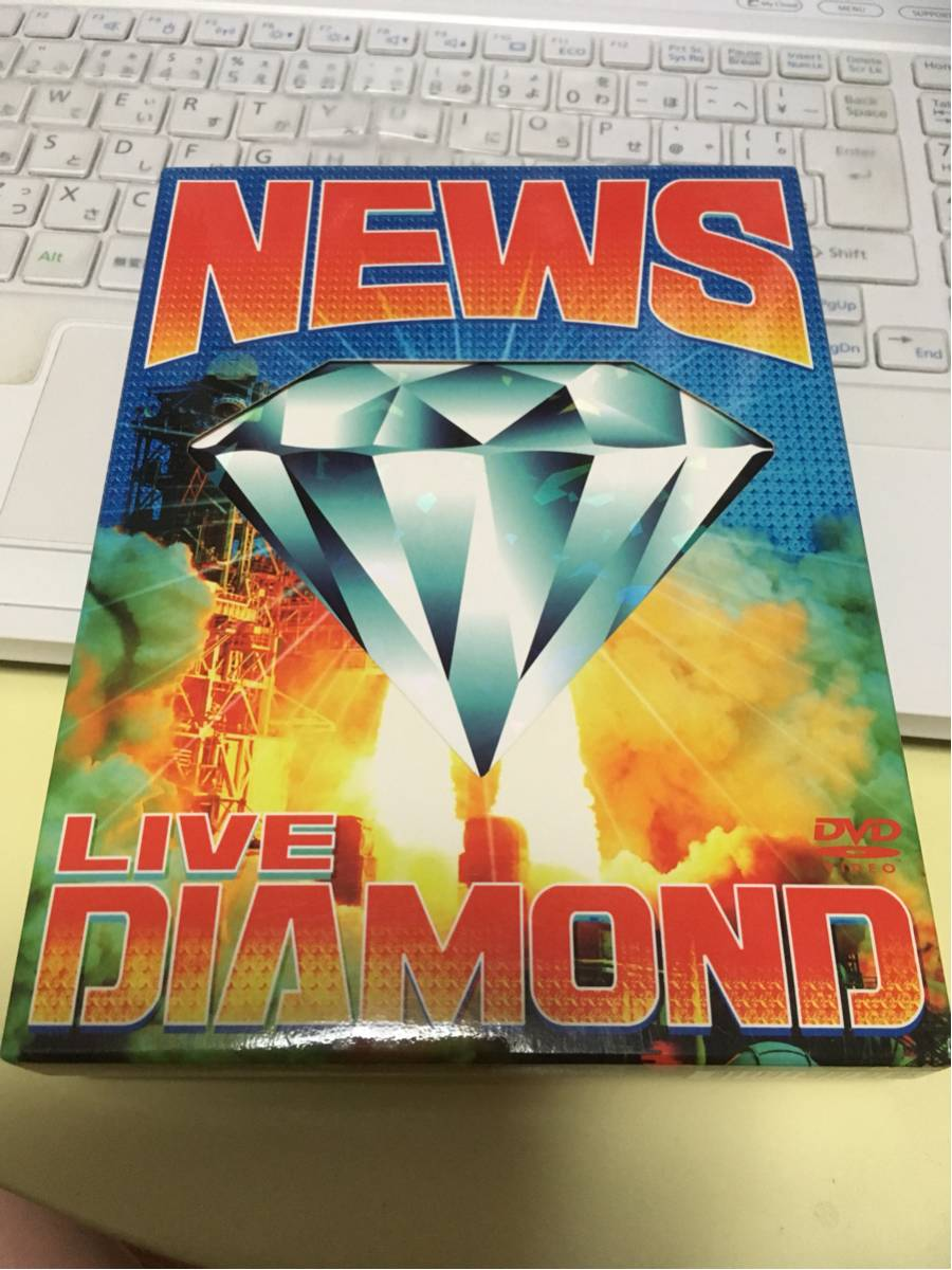 LIVE DIAMOND DVD 手越祐也増田貴久小山慶一郎加藤シゲアキ NEWS