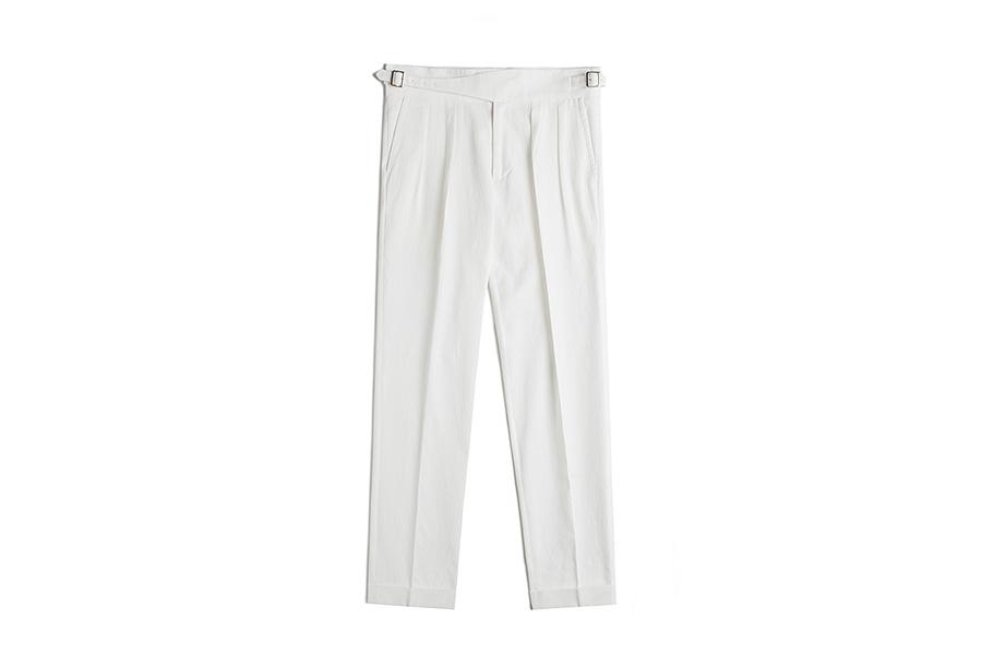 「グルカ コットンパンツ・ホワイト」日本未上陸ブランド