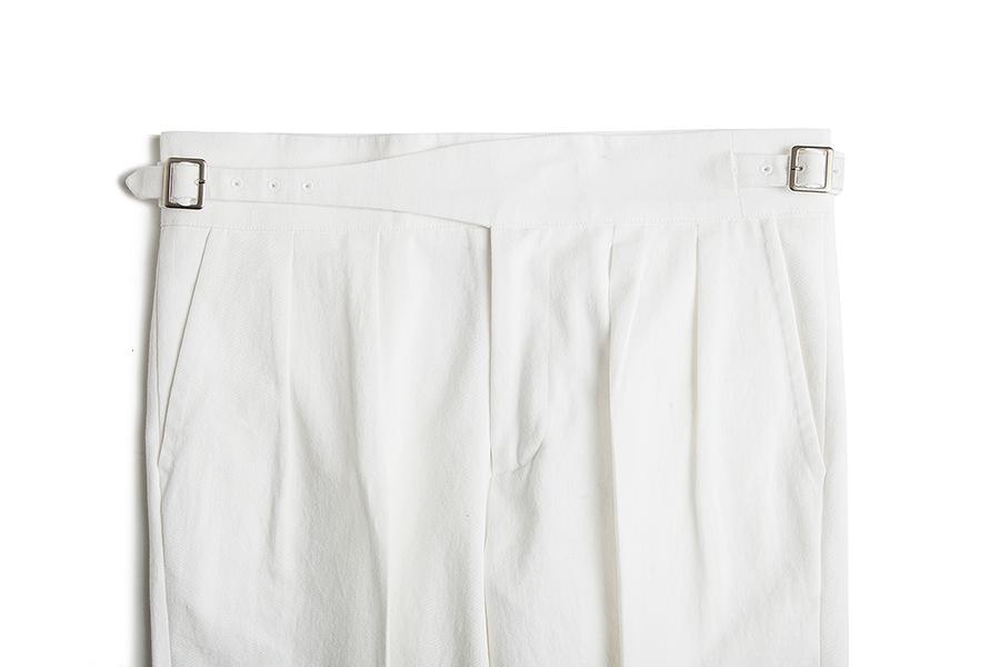 「グルカ コットンパンツ・ホワイト」日本未上陸ブランド_画像2