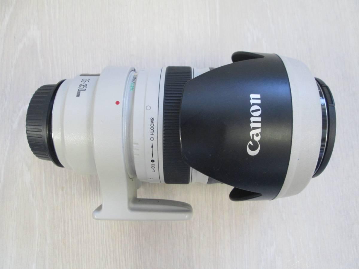 キャノン Canon EF 35-350mm ULTRSONIC 現状品 ズームレンズ EW-78カバー付