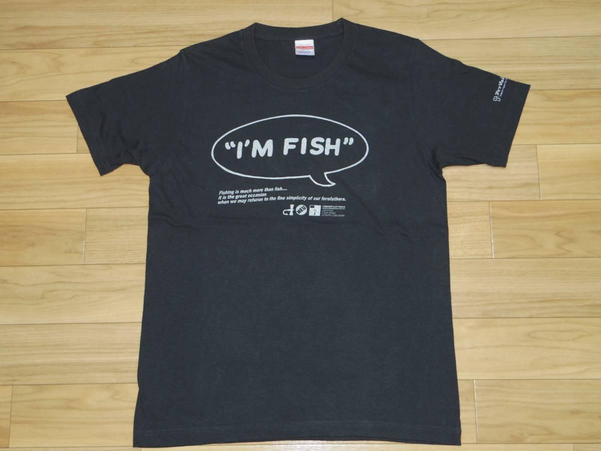 ■フィッシュマンズ FISHMANS■I'M FISH Tシャツ■グレー Mサイズ■cd