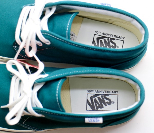 【USA購入 正規新品】VANSバンズ 28.5cm 50周年記念'49A チャッカブーツ CHUKKA BOOT グリーン復刻 スニーカー靴シューズ_画像2