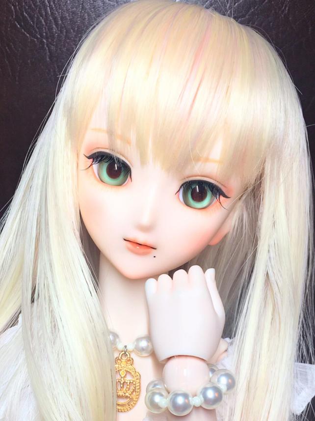 【MIYA】DDH-07(SW肌)カスタムヘッド+グラスアイ_画像3