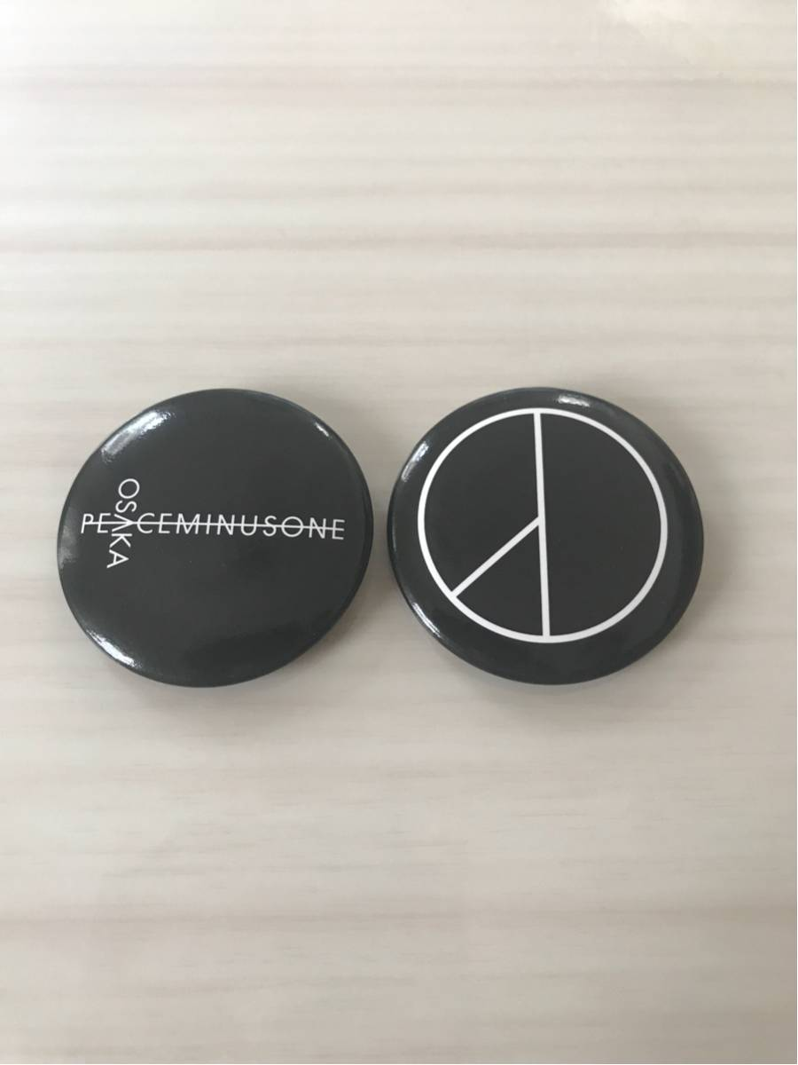 PEACEMINUSONE/GD/大阪限定/バッジ