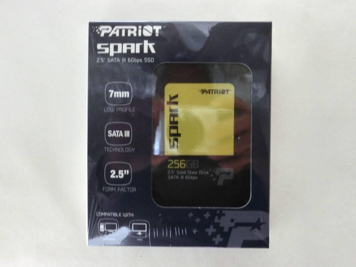 Patriot Memory Spark SSD 256GB PSK256GS25SSDR 【送料込】