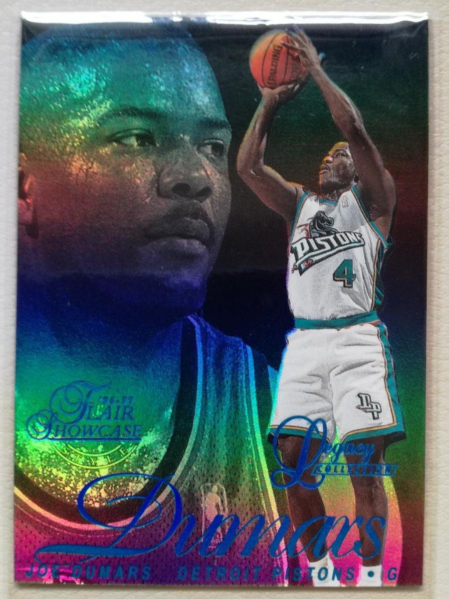 NBA JOE DUMARS 96-97 Flair Showcase Legacy Collection Row2 Style #/150 グッズの画像
