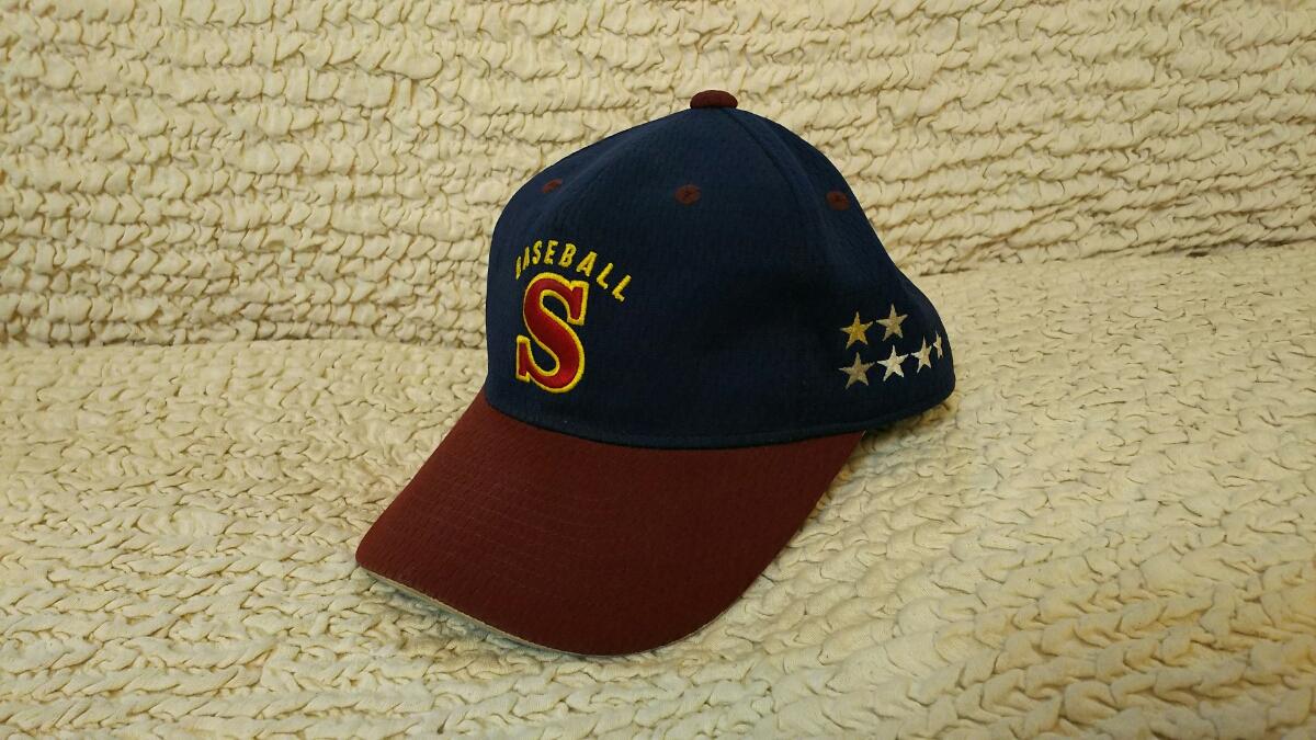 【レア】済美高校 野球部 帽子 ゼット 56cm 甲子園 選抜高校野球