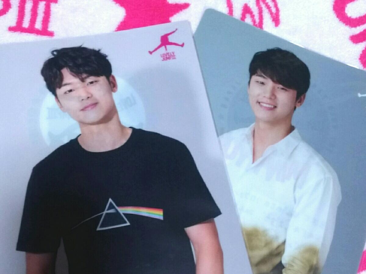 カン・ミンヒョク ~LOVELY JUMP Ⅲ~ 公式グッズ 2016年と2017年クリアファイルセット =送料無料=