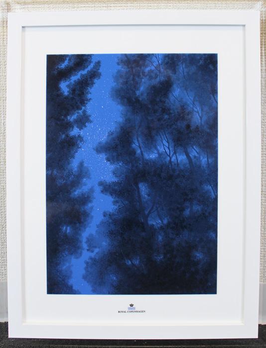 ◆ロイヤル コペンハーゲン◆千住博◆Mの森・空の回廊◆画集付◆