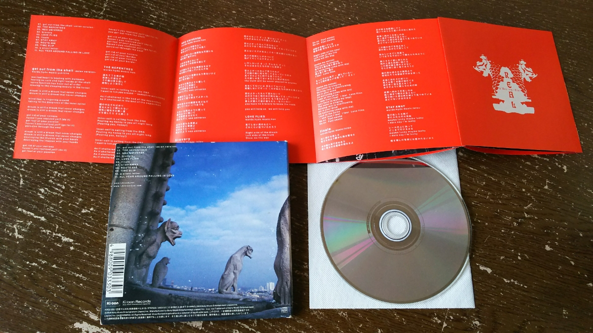 L' Arc-en-Ciel アルバムCD REAL【紙ケースに傷み】_画像3