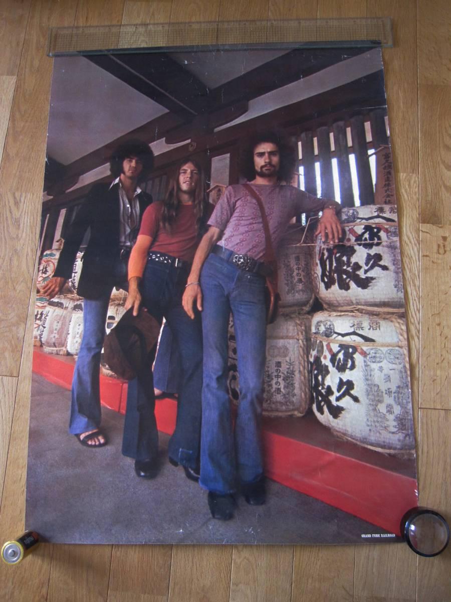 当時もの グランド・ファンク・レイルロード ポスター