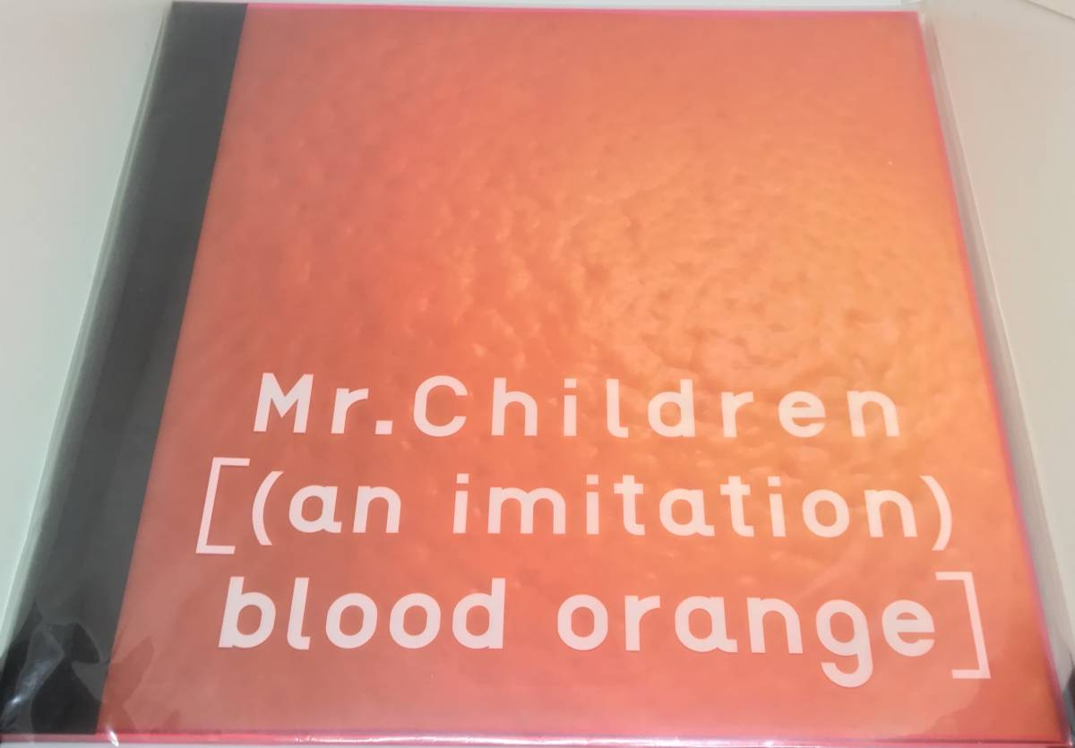 Mr.Children ツアーパンフレット「[(an imitation)blood orange]」桜井和寿