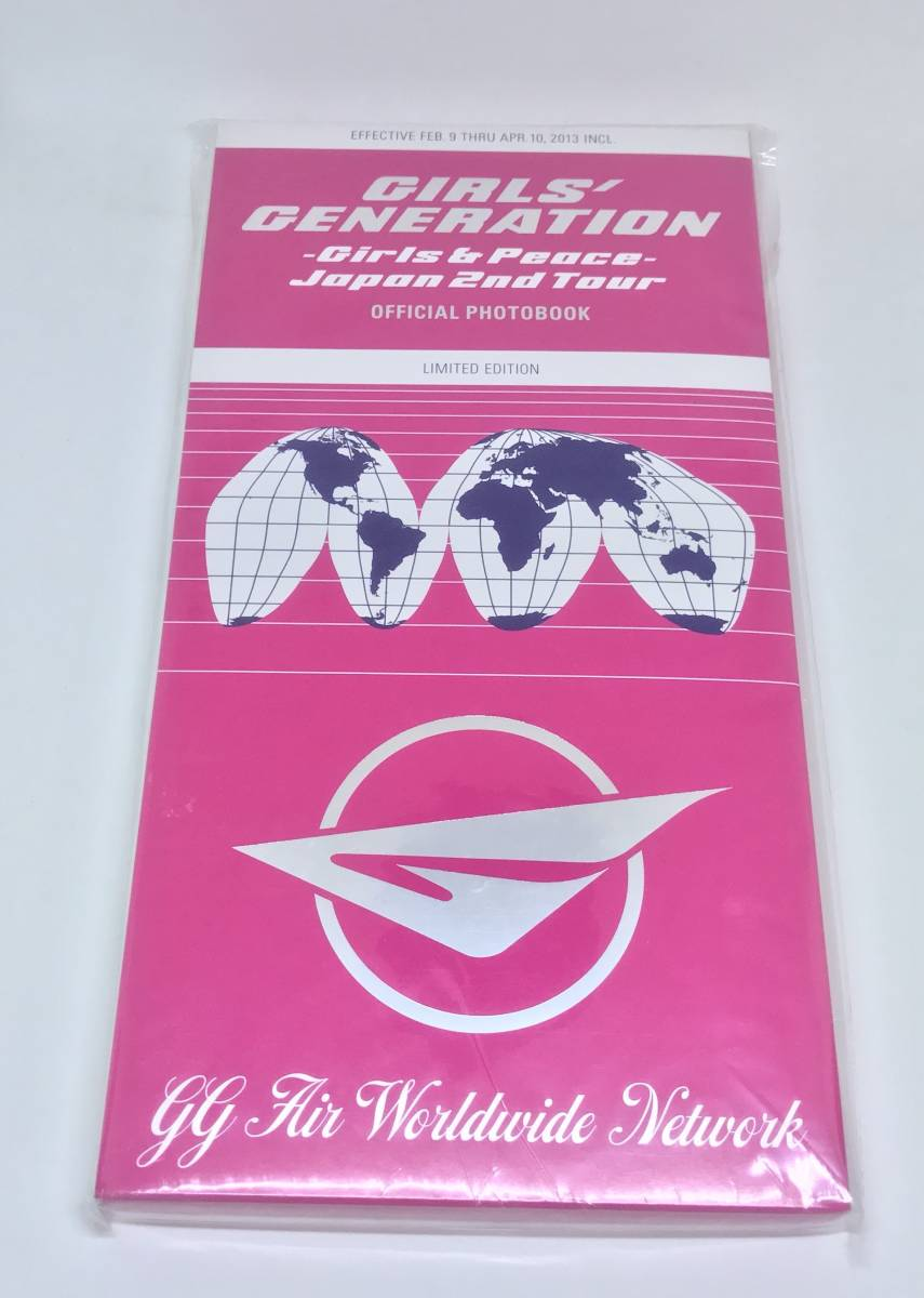 【限定 写真集】少女時代 「-Girls & Peace- Japan 2nd Tour」 OFFICIAL PHOTOBOOK LIMITED EDITION