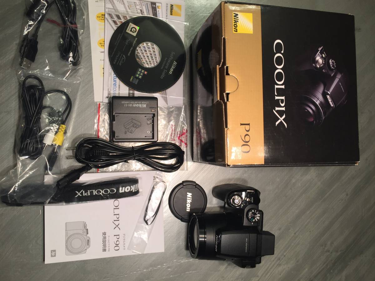 レア 名機 ニコン Nikon COOLPIX P90 CCD機