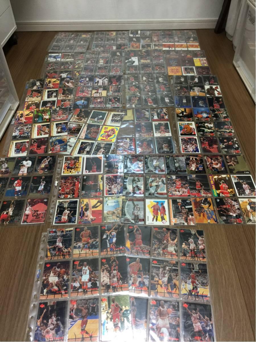NBA トレーディングカード 全てマイケルジョーダン 198枚 アルバム付き グッズの画像