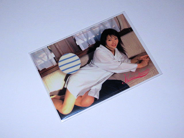 IMAGIO 眞鍋かをり コスチュームカード07 248/395 グッズの画像