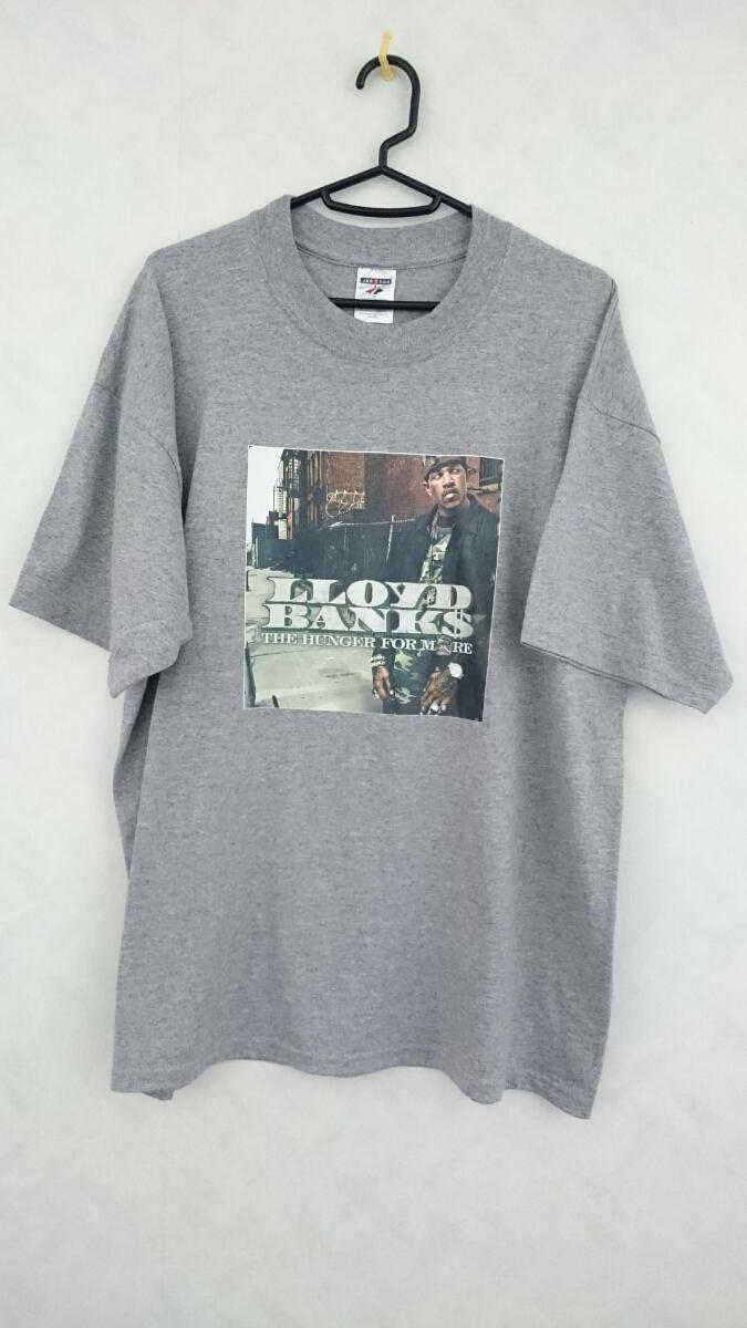 美品 LLOYD BANKS THE HUNGER FOR MORE Tシャツ サイズXL ロイド・バンクス G-UNIT 50CENT Tony Yayo