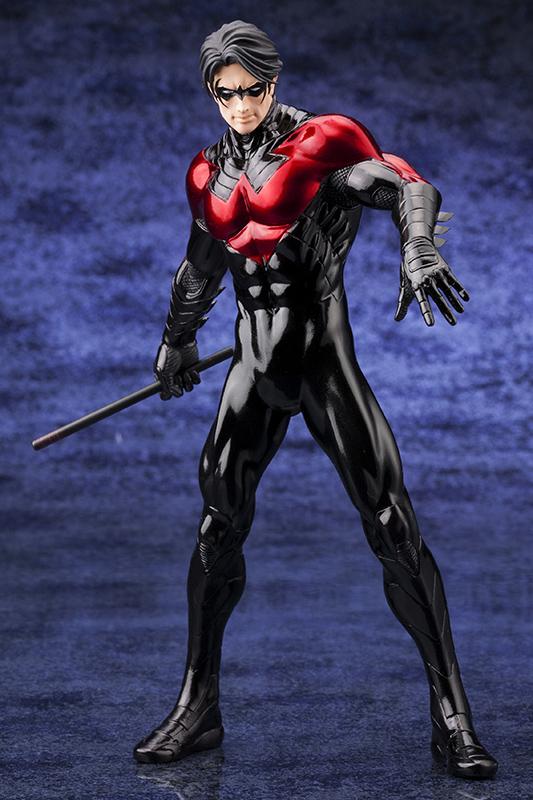 新品 未開封 ARTFX+ ナイトウイング NEW52版 NIGHTWING BATMAN DCコミック グッズの画像