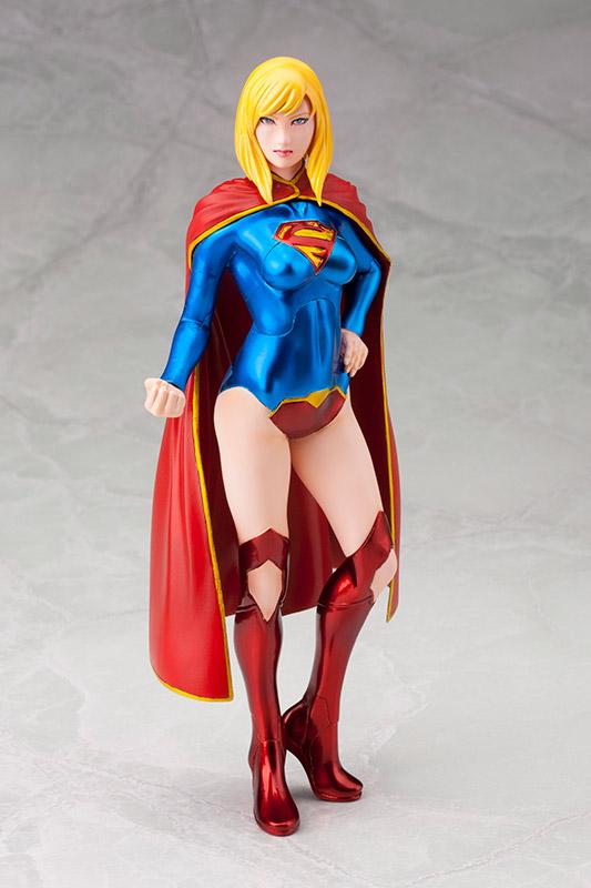 新品 未開封 ARTFX+ スーパーガール NEW52版 SUPERMAN DCコミック グッズの画像