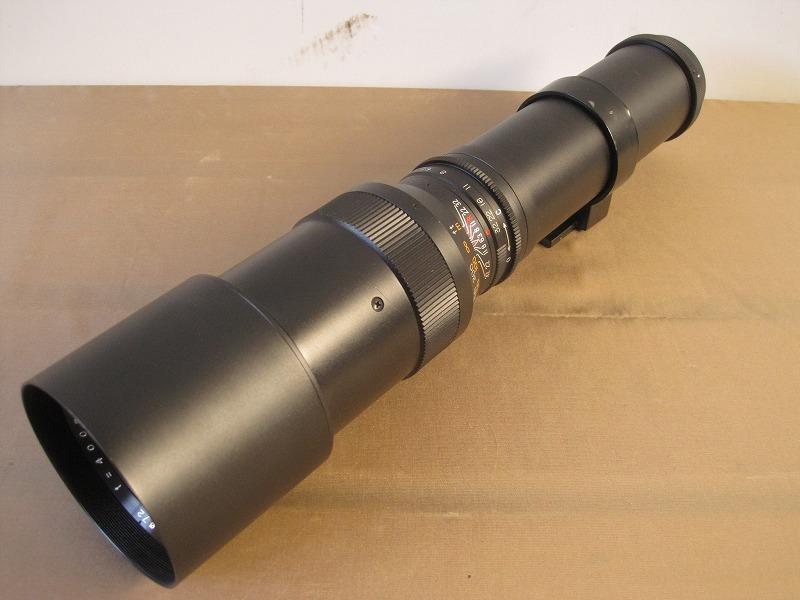 252 レンズ Tele-spezial Eximar 1:6.3 f=400mm φ72 売り切り