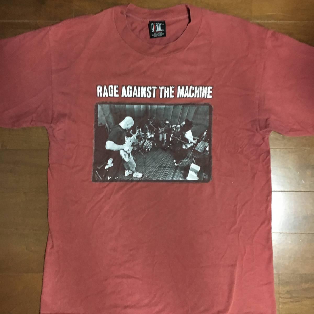 ビンテージ 激レア ロックTシャツ RAGE AGAINST THE MACHINE レイジアゲインストザマシン 1997古着 バンドTシャツ red hot chilli peppers