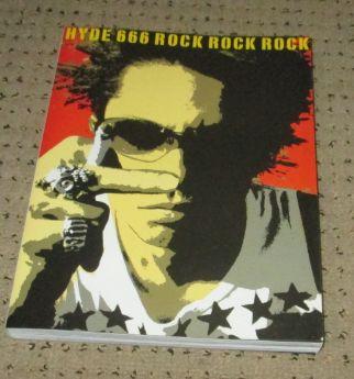 ★HYDE 666 ROCK ROCK ROCK 単行本 【ポスター付】