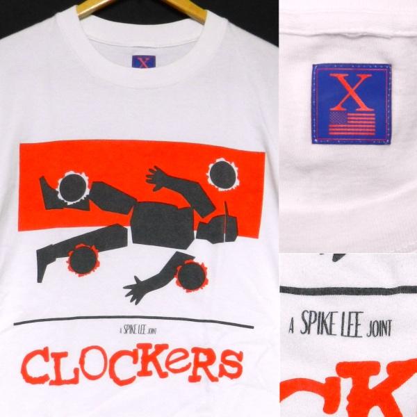 Clockers クロッカーズ spike lee スパイクリー 映画 オフィシャル ジャケット Tシャツ 白 M_画像3