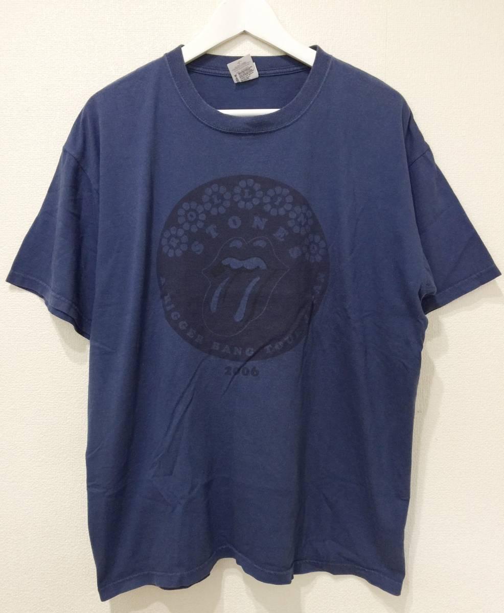 ROLLING STONES ローリングストーンズ 2006年 A Bigger Bang ジャパン ツアー Tシャツ L 検索》バンド オルタナ UK ロック 芸者 ライブグッズの画像