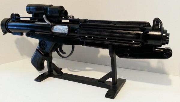 Stormtrooper Uber E-11 blaster life ruSTAR WARS Star Wars 3D print