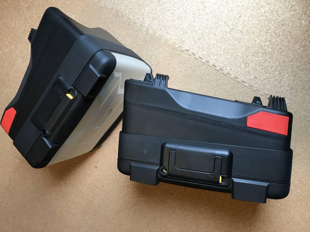 BMW R1200 GS 水冷 パニアケース 左 美品_画像3