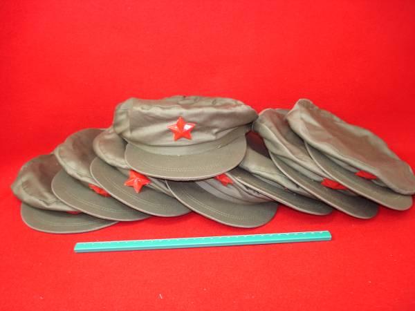 ★【逸品堂】★ 中国 北朝鮮軍ARMY陸軍 人民軍 帽子 キャップ 軍帽 未使用 文具 勉強道具 昭和レトロ 珍品 逸品 置物 飾り物 縁起物 ぼうし_1個単価で7個有ります希望個数を記入下さい