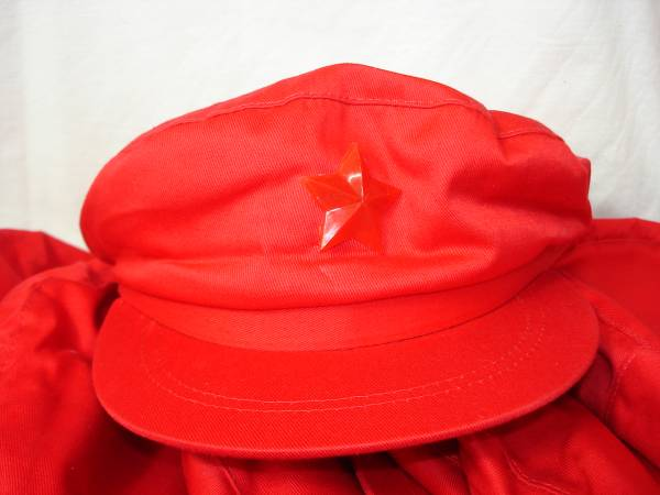 ★【逸品堂】★ 北朝鮮軍 中国 ARMY 陸軍 人民軍 帽子 軍帽 キャップ 未使用 珍品 新品 未使用品 映画 芝居 演劇 小道具_1個の価格です、希望個数を記入下さい
