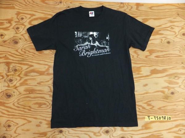MATFIA'S Sarah Brightman サラ・ブライトマン オーケストラコンサート JAPAN TOUR 2010 半袖Tシャツ L 黒