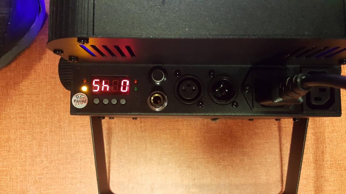 14台セット!即決なら送料無料!舞台照明 VERSIA(ACME)  パネル型 LED パーライト  LED-7TC  DMX 中古 1台辺り新品定価3万程度 _画像3