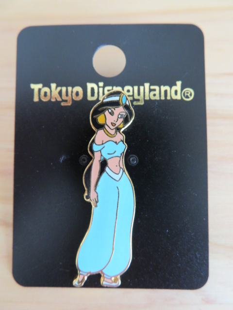 TDL 東京ディズニーランド アラジン ジャスミン ピン ディズニーグッズの画像