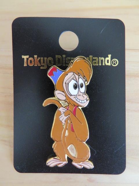 TDL 東京ディズニーランド アラジン アブー ピン ディズニーグッズの画像