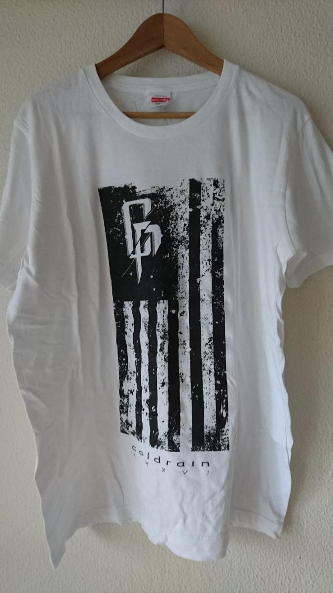 coldrainコールドレインTシャツ/XL ライブグッズの画像