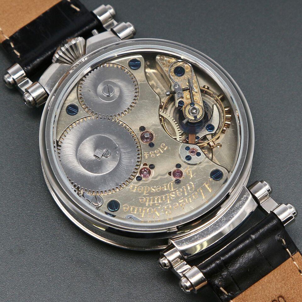 これは、、凄いよ!1891年【A.ランゲ&ゾーネ】圧巻の貫禄 ドイツの逸品高級腕時計 メン