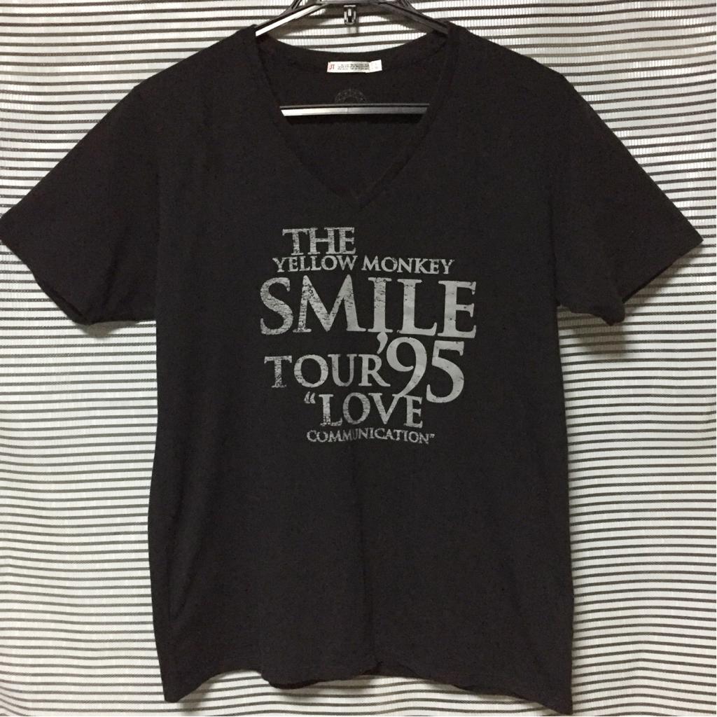 ★THE YELLOW MONKEY Tシャツ Lサイズ UT SMILE TOUR '95 ザイエローモンキー イエモン★